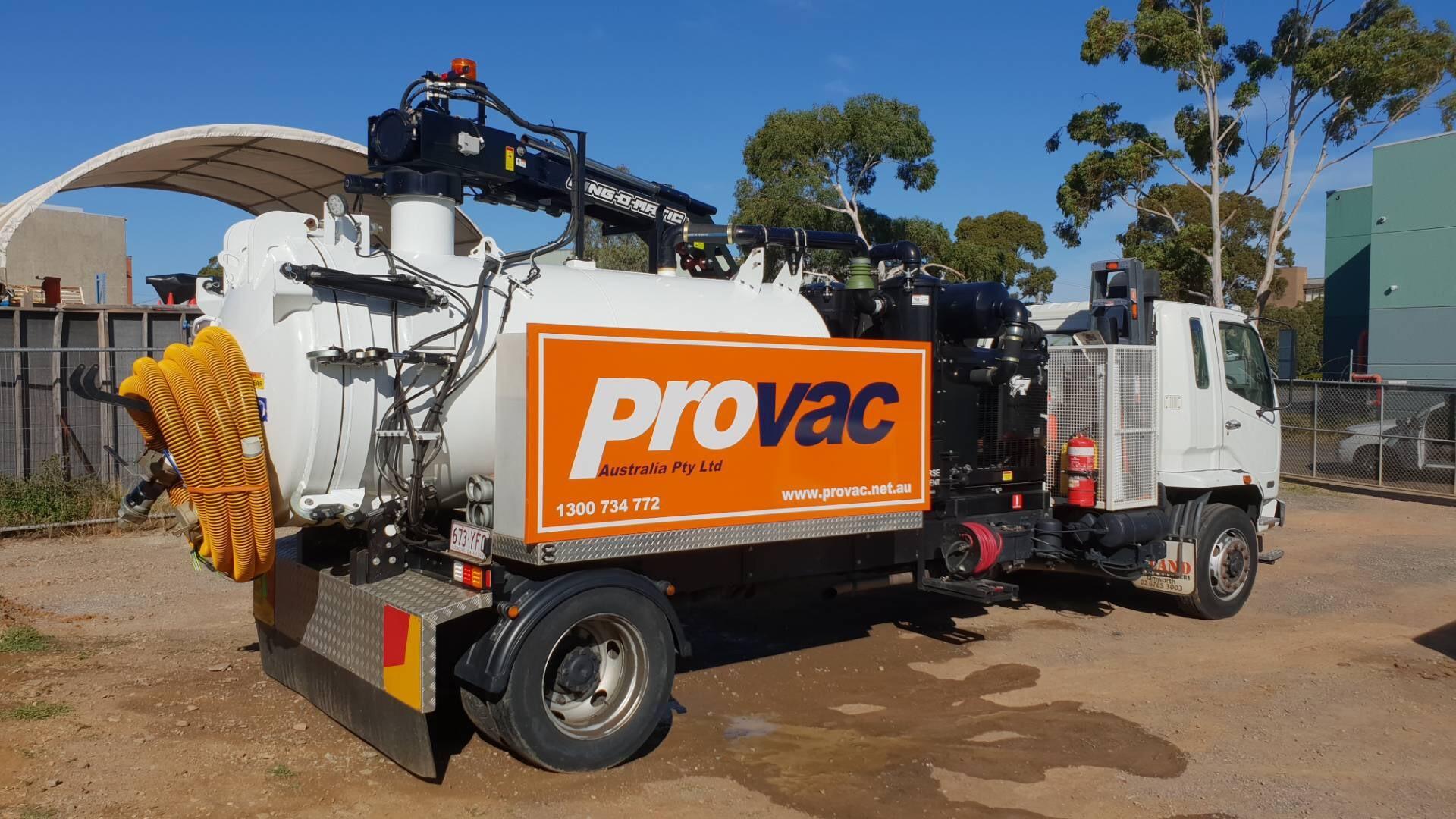 Vac Truck Provac Australia